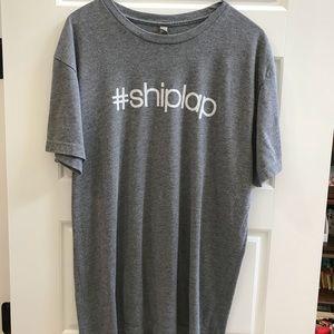 Magnolia Market #shiplap gray T-shirt XL